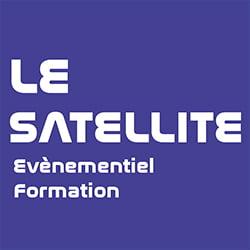 la station le satellite